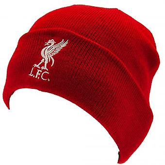 Liverpool FC Red Turn Up Knitted Hat