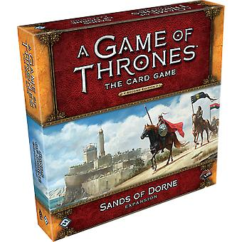 A Game of Thrones LCG 2nd Edition: Sands of Dorne Deluxe Expansion Board Game