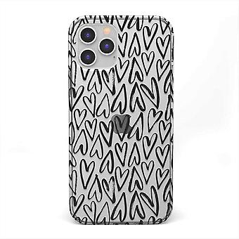 Iphone  12 Pro Max Heart Shaped Case