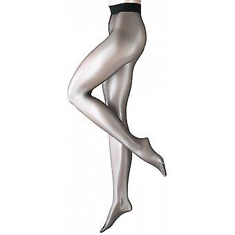 Falke Shelina 12 Denier ultra transparant Shimmer panty - zwart