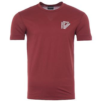 Emporio Armani Half Eagle Logo T-Shirt - Tobacco