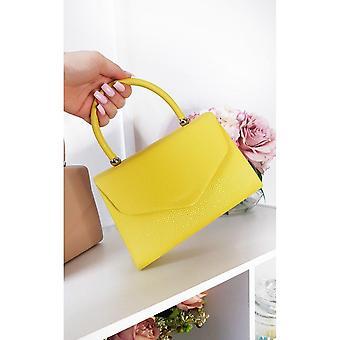 Bolsa de couro feminina Selena Faux