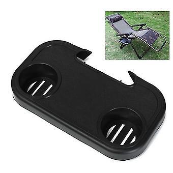 Spot Portable Folding Camping Outdoor Beach Garden Chair Side Tray Holder