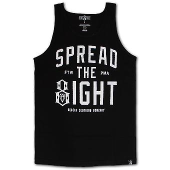 Rebel8 Spread The Eight Tank Top Black