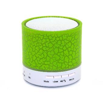 Tragbare Mini Led Bluetooth Lautsprecher Wireless kleine Musik Audio Tf Usb Fm Licht Stereo Sound Lautsprecher für Telefon mit Mikrofon