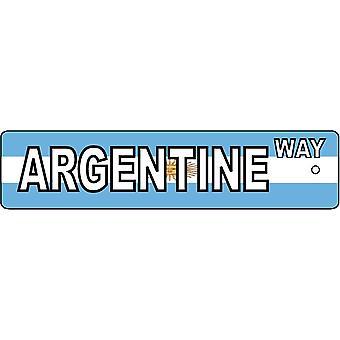 Argentinische Weise Straßenschild Auto-Lufterfrischer