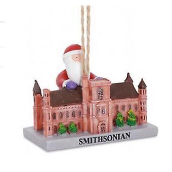 Santa besøk Smithsonian Washington DC landemerke Christmas ferie Ornament