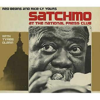 Louis Armstrong & Tyree Glenn - Satchmo au National Press Club: importation USA rouge haricots & Ri [CD]