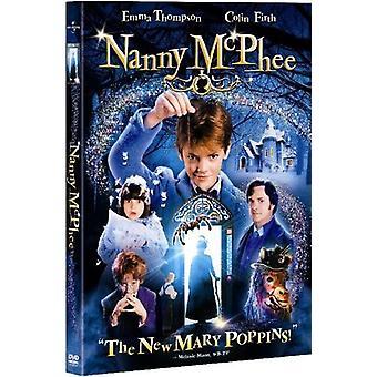 Nanny McPhee [DVD] USA importerer