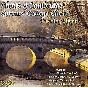 Choir of Queen's College/Cambridge Bras - Evening Hymn [CD] USA import