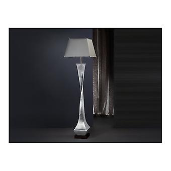 Schuller Deco Floor Lamp Silver/Black
