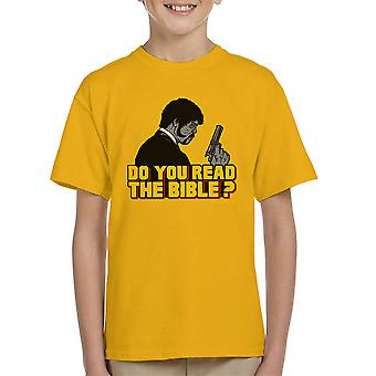 The Shepherd Jules Winnfield Pulp Fiction Kid's T-Shirt