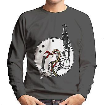 Battle Worm Earthworm Jim Men's Sweatshirt