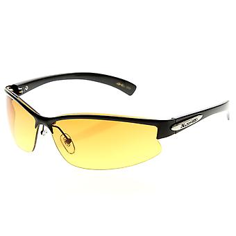 X-Loop Brand Eyewear HD Lens Metal Half Frame Semi-Rimless Sports X-Loop