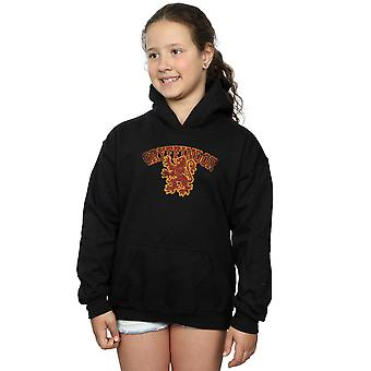 Harry Potter Girls Gryffindor Sport Emblem Hoodie