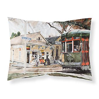 New Orleans Streetcar Moisture wicking Fabric standard pillowcase
