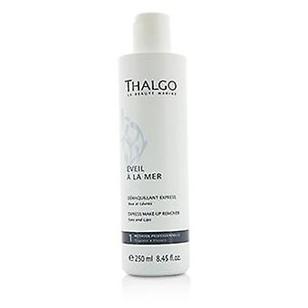 Thalgo Eveil A la Mer Express make-up remover-voor ogen & amp; Lippen (Salon maat)-250ml/8.45 Oz