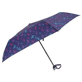 Bruine parapluie impression chat