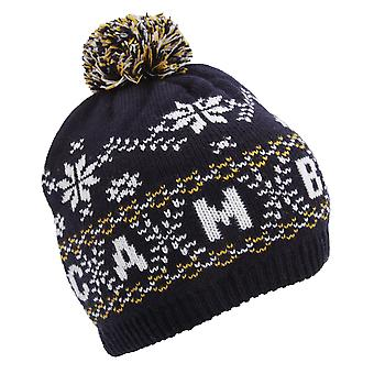 Unisex Fairisle Pattern Cambridge Winter Bobble Hat