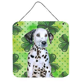 ダルメシアン子犬聖パトリックの壁またはドア吊り印刷します。