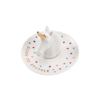 CGB Giftware Cloud Nine Unicorn Head Ring Dish