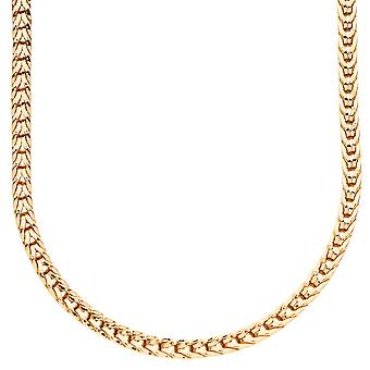 Iced out bling ontwerper FRANCO chain - 4mm goud