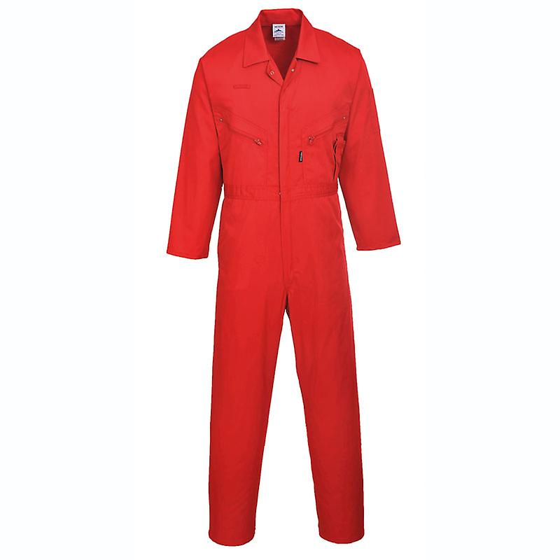 Portwest Mens Liverpool-Zip Workwear Coverall Overall