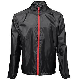 2786 Mens Contrast Lightweight Showerproof Jacket