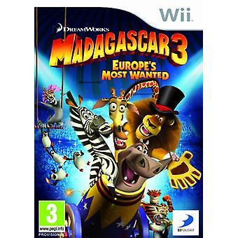 Madagascar 3 (Wii)-nieuw