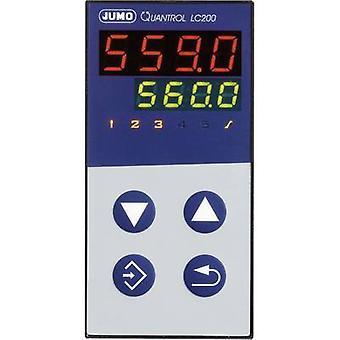 Jumo Quantrol LC100 Temperature controller L, J, T, K, E, N, S, R, Pt100, Pt1000, KTY 3 A relay (W x H) 48 mm x 48 mm