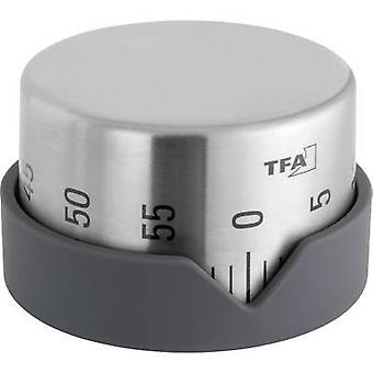 TFA Dostmann Dot Timer Stainless steel Mechanical