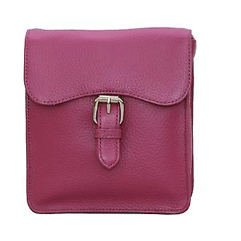 Eastern Counties Leather Womens/Ladies Ebony Satchel Style Handbag