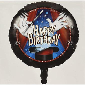 Magician Mage foil balloon Ø ca 45 cm1 piece birthday theme party
