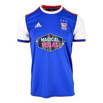 2018-2019 Ipswich Town Adidas Home Football Shirt