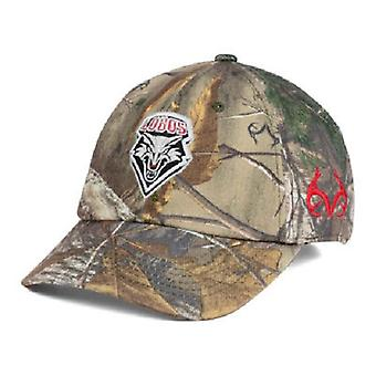 New Mexico Lobos NCAA TOW Real Tree Camo Stretch Fitted Hat