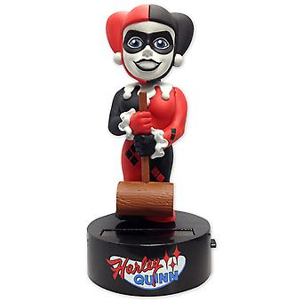 DC Comics Bodyknocker classic Harley Quinn Aalok figure made of plastic, solar powered.