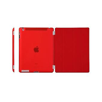 Case/cover iPad (2017)/iPad Air + shell in hard plastic rood