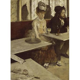 Absinth, Edgar Degas, 50x40cm