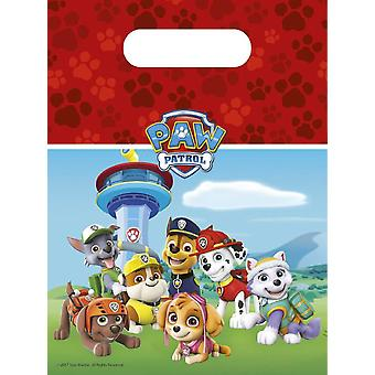 Paw patrol party bags gift bags 6 piece children birthday theme party