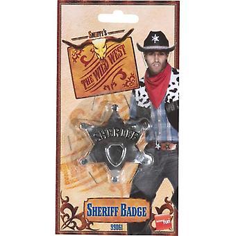 Sheriff Star Badge.