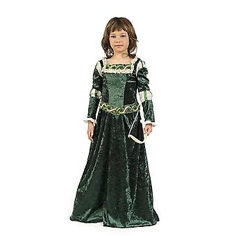 Traje de muchacha de traje de niño de arquero Robin Hood Hunter