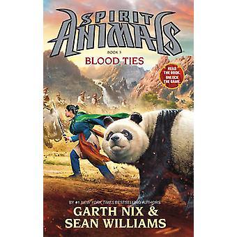 Laços de sangue por Garth Nix - Sean Williams - 9780545522458 livro