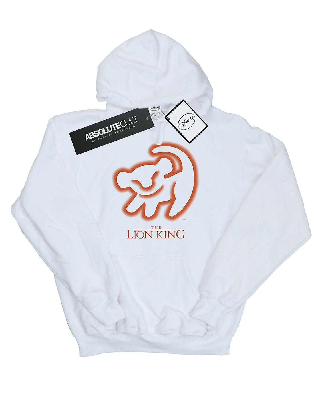 Disney Men's The Lion King Cave Drawing Hoodie