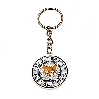 Leicester City FC Champions Crest Keyring
