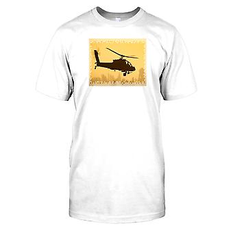 Boeing Apache helikopter Kids T Shirt