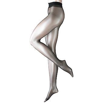 Falke Lunelle 8 Denier Ultra-Transparent Shimmer Tights - Black
