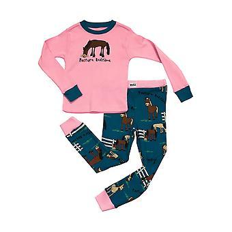 LazyOne Childrens/Kids legelő Bedtime hosszú ujjú Pyjama szett