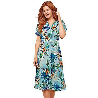 Joe Browns Womens Vintage tropiska blommig klänning