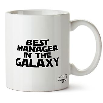 Hippowarehouse paras johtaja Galaxy painettu muki Cup keraaminen 10oz