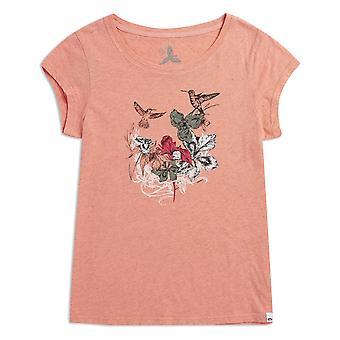 Animal Spirit Animal Short Sleeve T-Shirt in Sunset Pink